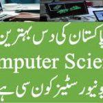Top 10 Universities in Computer Science