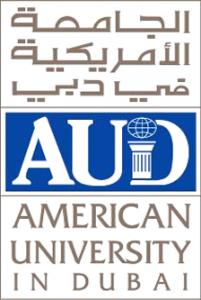 American University in Dubai Logo (Top 10 Universities in UAE)