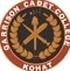 Garrison Cadet College Kohat Entry Test Result