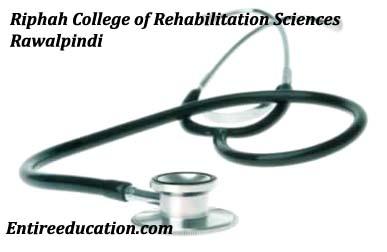 Riphah College of Rehabilitation Sciences Rawalpindi Admission