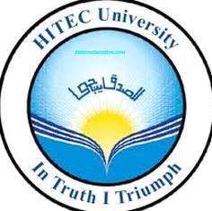HITEC University Taxila Entry Test Result