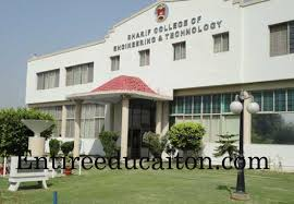 Sharif College of Engineering and Technology Lahore Admission