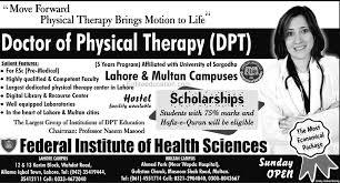 Federal Institute Of Health Sciences Lahore Admission 2021