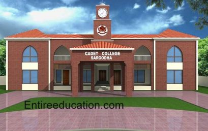 Cadet College Sargodha Admission 2021 Last date 7th, 8th Class