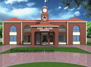 Cadet College Sargodha Admissions