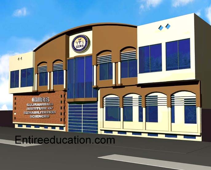 Gujranwala Institute of Rehabilitation Sciences Admissions