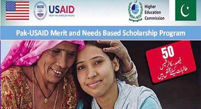 Pak USAID Merit Scholarships