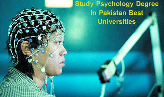 Degree of Psychology For Student In Pakistani Universities