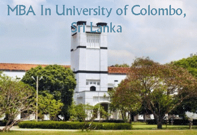 MBA In University Of Colombo Sri Lanka