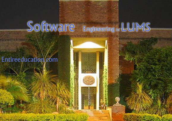 Study Degree of Software Engineering in LUMS