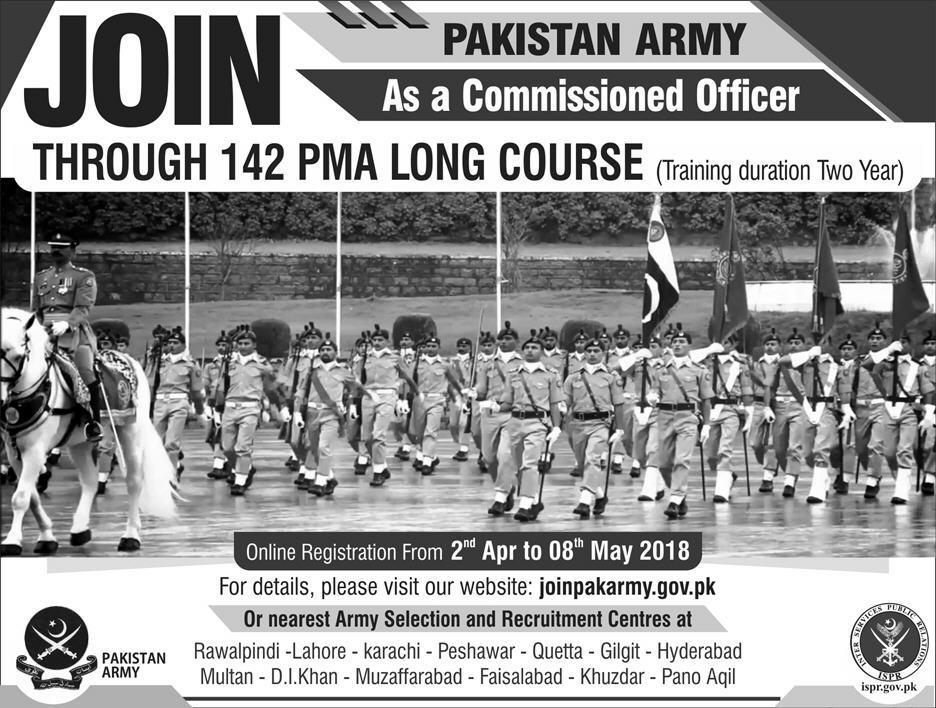 PMA Long Course 142 Last date