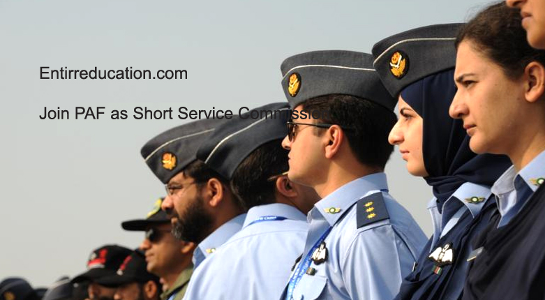 Join Pakistan Air Force as Short Service Commission 2020 Registration Online