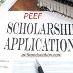 PEEF Scholarship Offerd by Government of Punjab