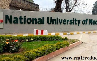 NUMS Admission 2019 Registration Form, Eligibility, Fee Structure