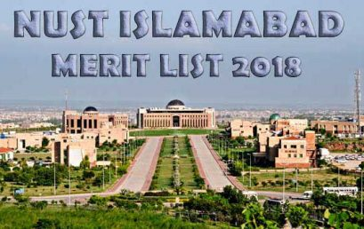 NUST Merit List 2019 For NET-1 Entry Test Results 2019
