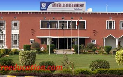 National Textile University Faisalabad Admission 2020 Last date, Fee Structure