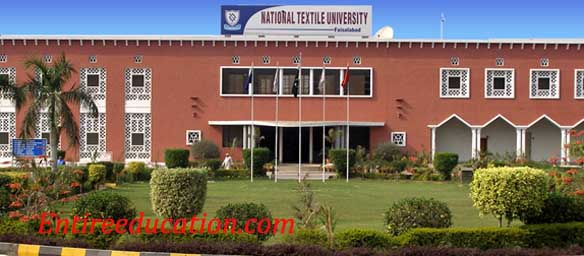 Ntu National Textile University Faisalabad Admission 2020 Last Date