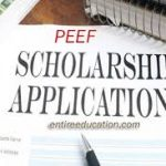 PEEF Scholarships 2021 Last date for Matric, FSc, Bachelor, Masters and PhD