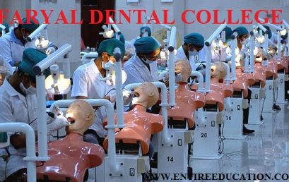Faryal Dental College Admission 2019Last date, Fee Structure