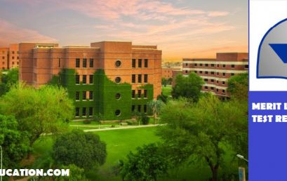 LUMS University Merit List and Entry Test Results 2020