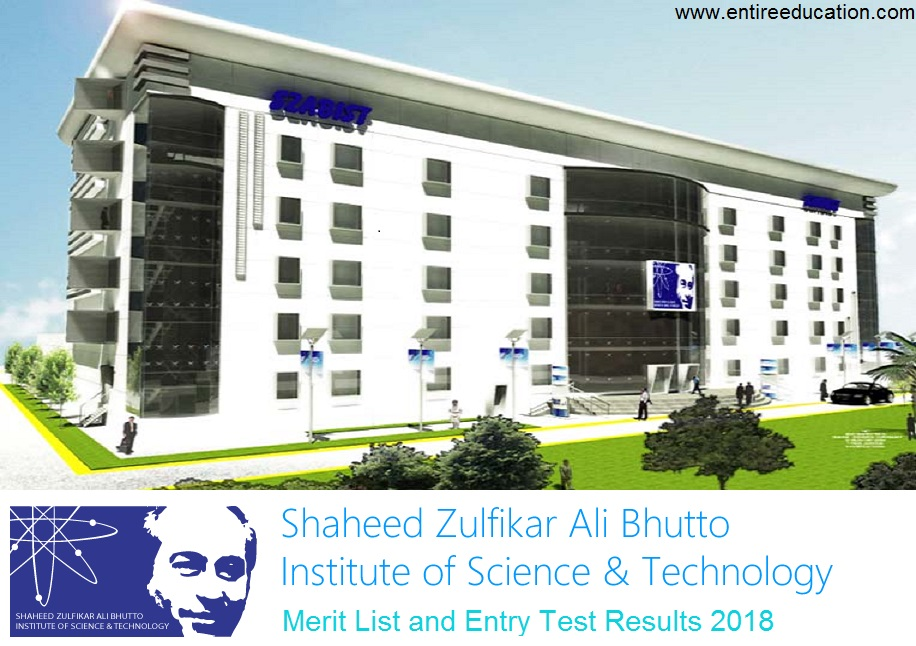SZABIST Merit List and Entry Test Results for Admissions 2020