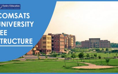COMSATS University Fee Structure 2020 For BS, BSCS, MS, MA, PhD
