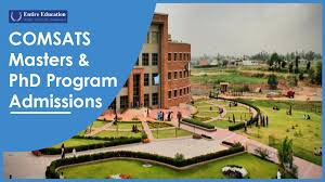 COMSATS University Masters and PhD Programs 2021 for Students