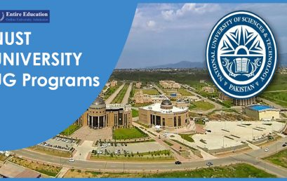 Admission in NUST Undergraduate Programs 2020 After Intermediate for Students