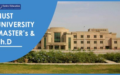 NUST University Admissions 2020 for Graduate and PhD Programs