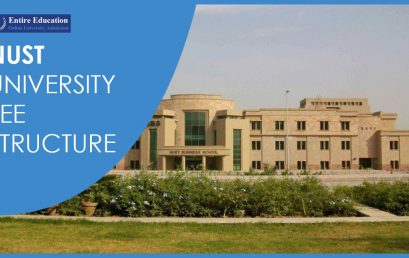 NUST University Fee Structure 2020 For Undergraduate, Graduate And PhD