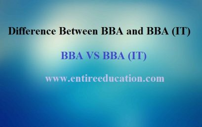 Difference Between BBA and BBA (IT), Scope of BBA In Pakistan
