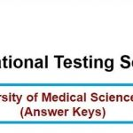 NUMS Entry Test 2021 Online Registration Form Admission Dates And Schedule