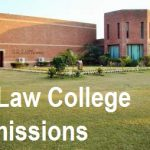 Punjab University Law College Admission 2021 Last date Fee Structure and Eligibility Criteria