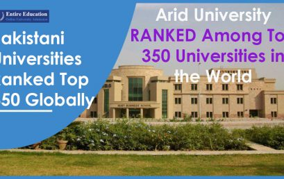 Pakistani Universities Ranked Among Top 350 Universities in the World