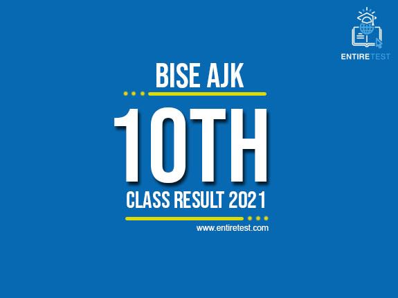 BISE AJK 10th Class Result 2021 – Azad Kashmir Matric Result