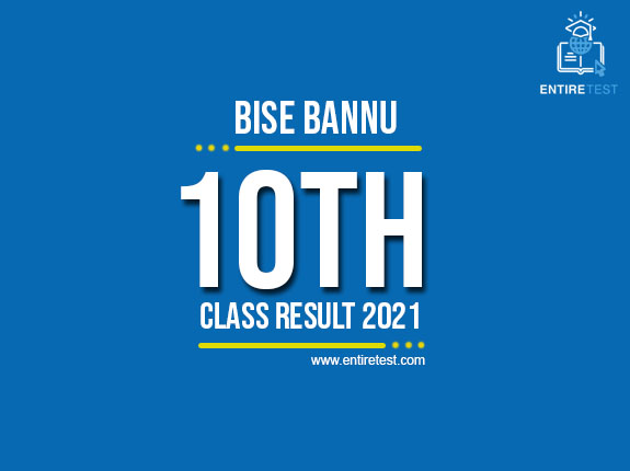 BISE Bannu 10th Class Result 2021 – Bannu Matric Result