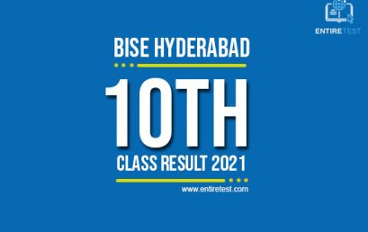 BISE Hyderabad 10th Class Result 2021 – Hyderabad Board Matric Result