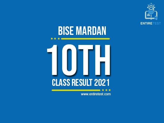 BISE Mardan 10th Class Result 2021 – Mardan Matric Result