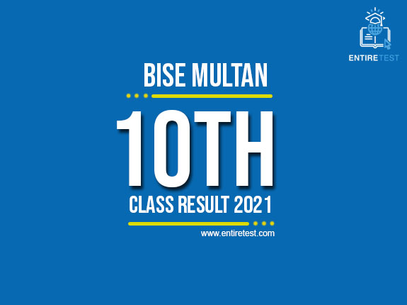BISE Multan 10th Class Result 2021 – Multan Matric Result