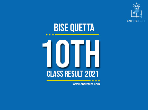 BISE Quetta 10th Class Result 2021 – Quetta Matric Result
