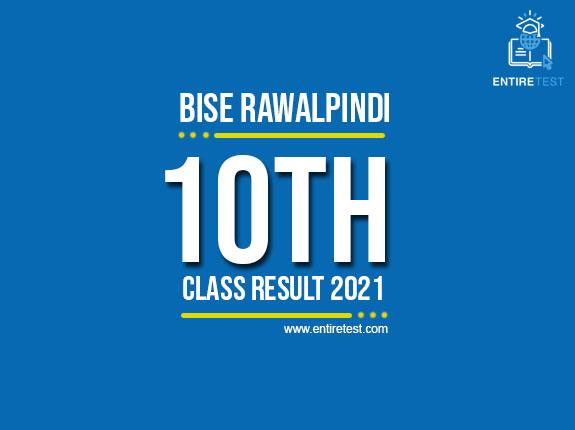BISE Rawalpindi 10th Class Result 2021 – Rawalpindi Matric Result