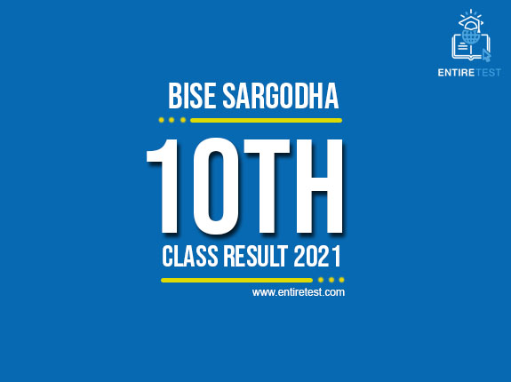 BISE Sargodha 10th Class Result 2021 – Sargodha Board Matric Result