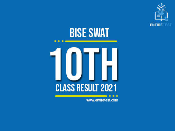 BISE Swat 10th Class Result 2021 – Swat Board Matric Result