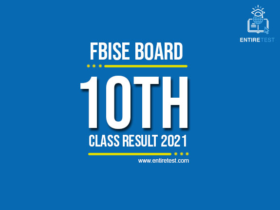 FBISE 10th Class Result 2021 – BISE FEDERAL Matric Result