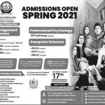 Bahria University Lahore Merit List and Entry Test Result for Admissions 2021