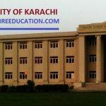 Karachi University Merit List 2021 for UOK Entry Test Result