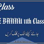 BISE BANNU 11th Class Result 2021 - FSC, ICOM, ICS, FA
