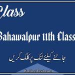 BISE Bahawalpur 11th Class Result 2021 - FSC, ICOM, ICS, FA