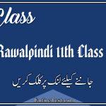 BISE Rawalpindi 11th Class Result 2021 - FSC, ICOM, ICS, FA