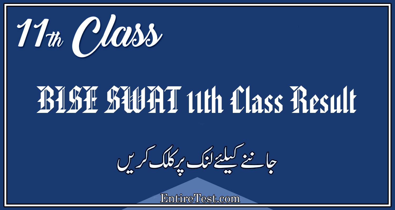 BISE Swat 11th Class Result 2021 – FSC, ICOM, ICS, FA